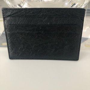 Gucci Ostrich Card Holder